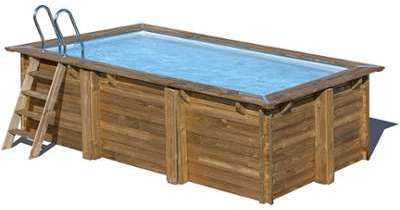 piscine bois marbella 4 00 x 2 50 x h1 19m