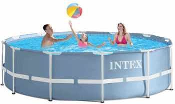 Intex piscine ultra silver filtre sable for Piscine intex tubulaire