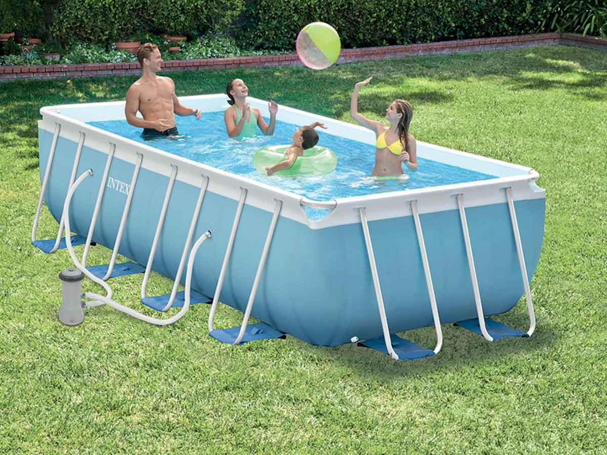 piscine gonflable 2m sur 4m. Black Bedroom Furniture Sets. Home Design Ideas