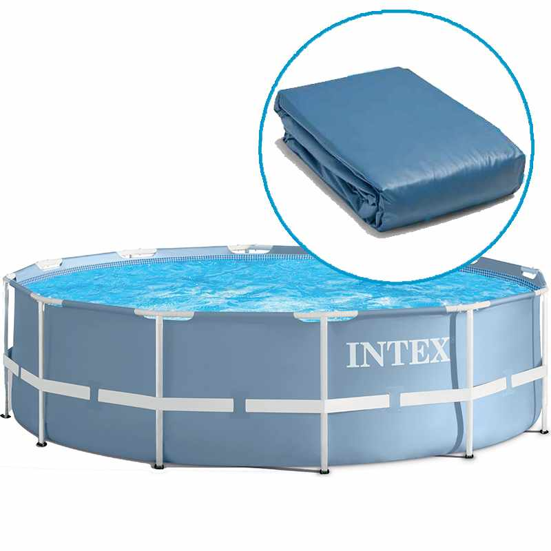 Liner pour piscine intex ultra silver tubulaire for Piscine ovale intex 6 10 x 3 66 x1 22m