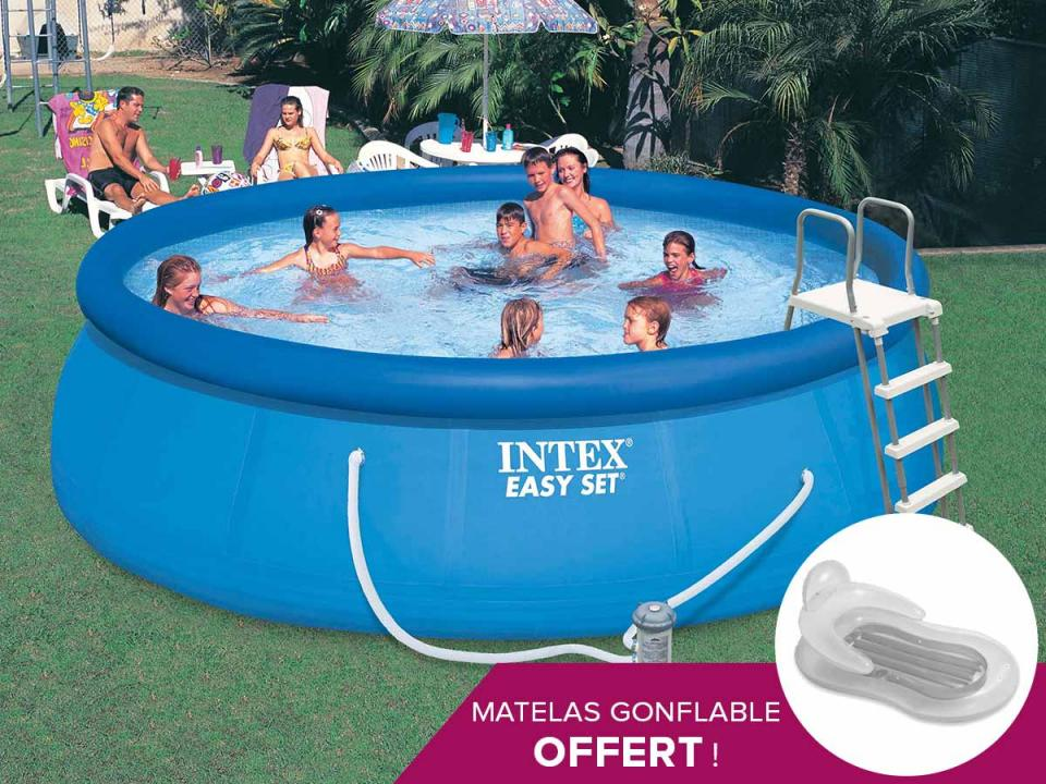 Catgorie piscine page 3 du guide et comparateur d 39 achat for Piscine intex 4 57 x 1 22