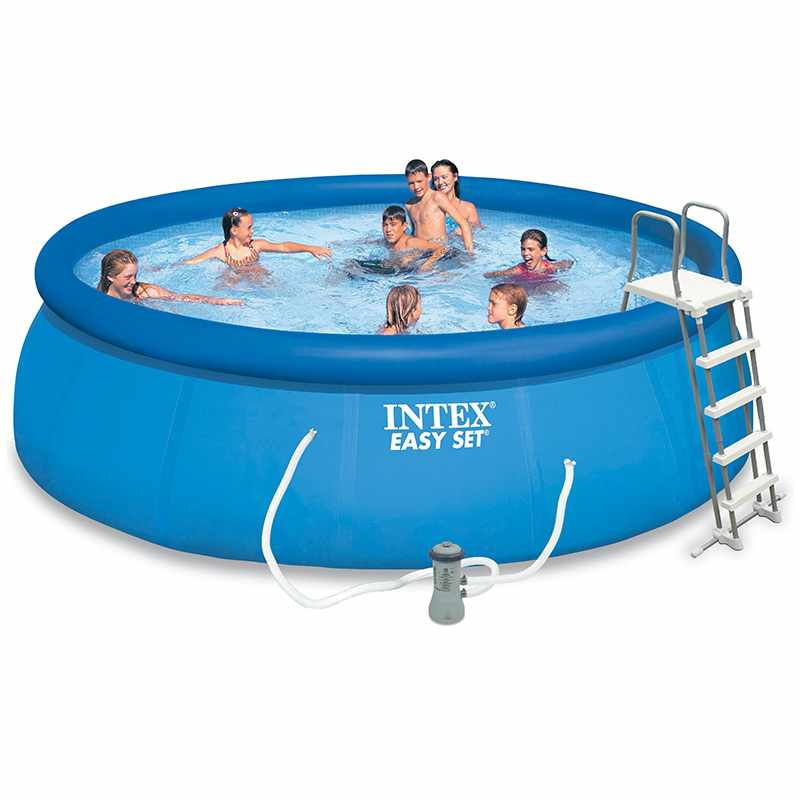 Liner pour piscine intex ultra silver tubulaire for Piscine carree intex