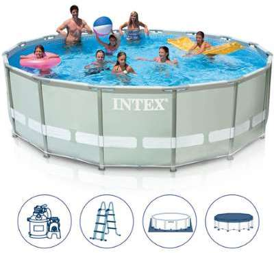 Catgorie piscine page 5 du guide et comparateur d 39 achat for Piscine autoportante intex