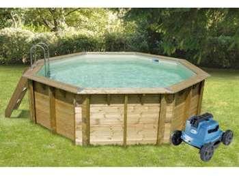 Cat gorie piscine page 18 du guide et comparateur d 39 achat for Robot piscine bois
