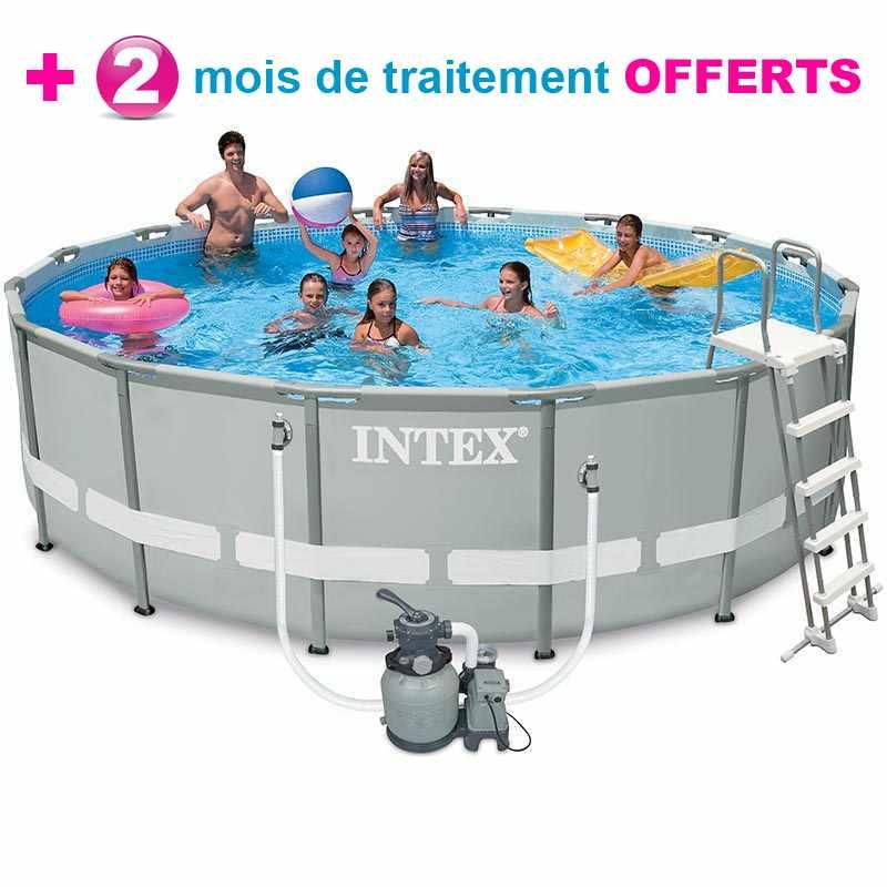 piscine tubulaire intex ultra frame 488 x h122m - Liner Pour Piscine Intex Tubulaire