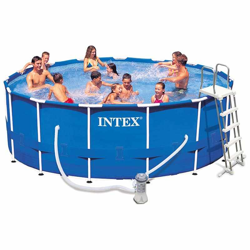 Liner pour piscine intex ultra silver tubulaire - Intex piscine tubulaire rectangulaire ...