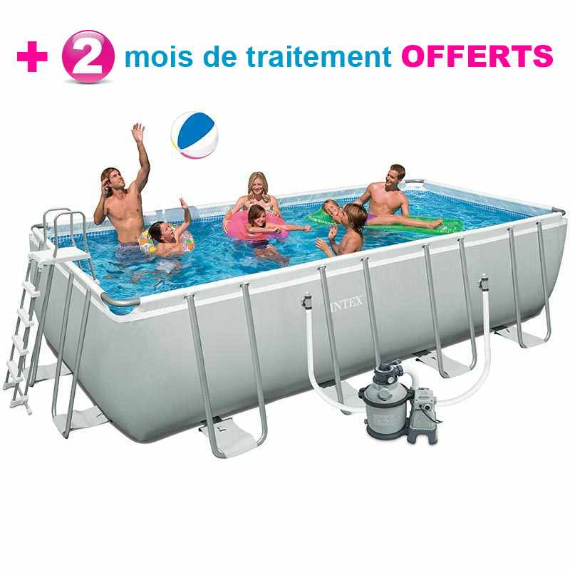 Intex ultra frame 488 x h122m for Piscine tubulaire intex 4 57 x 1 22m