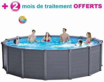 piscine tubulaire intex graphite 478 x h124m - Liner Pour Piscine Intex Tubulaire