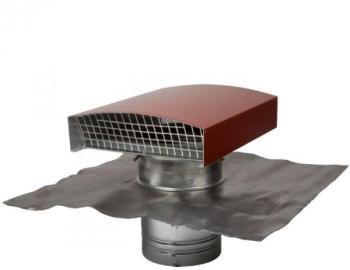 atlantic sortie de toiture vmc 125 mm mtallique pour tuile. Black Bedroom Furniture Sets. Home Design Ideas