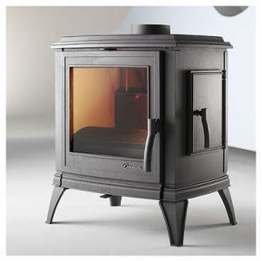 poele invicta antaya wood heating stove sided cast iron. Black Bedroom Furniture Sets. Home Design Ideas