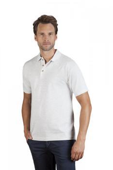 Polo épais grande taille Hommes promotion, 4XL, vert lime sauvage