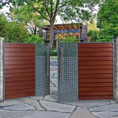 Catgorie portail du guide et comparateur d 39 achat for Portail de jardin aluminium