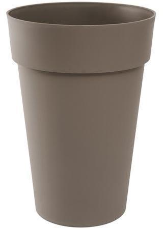 vase haut toscane 46cm taupe. Black Bedroom Furniture Sets. Home Design Ideas
