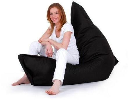 pouf xxl imperm able coussin g ant x cm. Black Bedroom Furniture Sets. Home Design Ideas