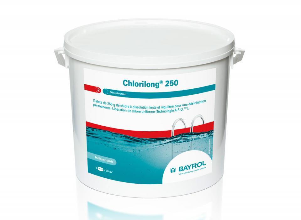 Bayrol chlorilong 5 functions seau de 5 kg for Produit piscine bayrol