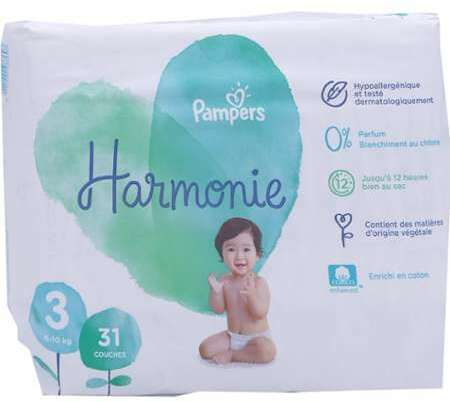 Pampers Harmonie Taille 3 10