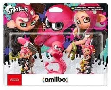 nintendo amiibo splatoon calamar. Black Bedroom Furniture Sets. Home Design Ideas