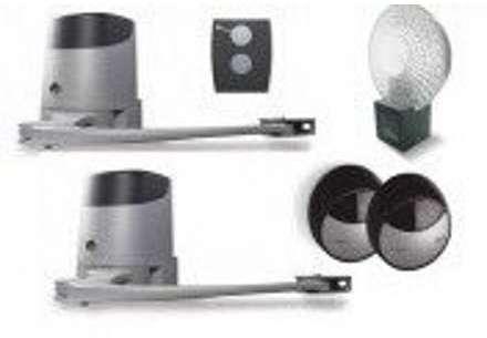 faac cmoteur volet 2 battants sans fil blanc night one. Black Bedroom Furniture Sets. Home Design Ideas
