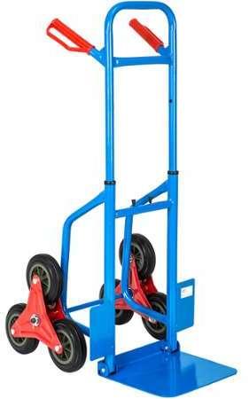 Kstools diable roues pleines 250 kg - Diable 6 roues ...