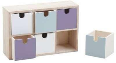 raaco casier m tallique 40 tiroirs. Black Bedroom Furniture Sets. Home Design Ideas