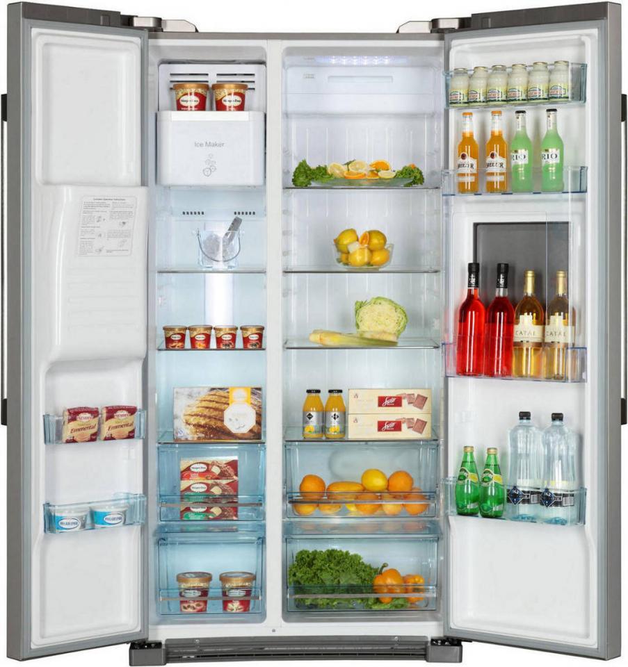 refrigerateur americain haier hrf 628 af 6. Black Bedroom Furniture Sets. Home Design Ideas