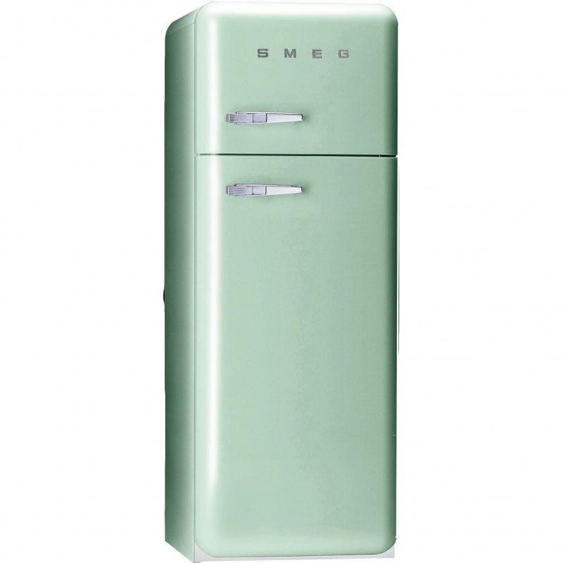 Smeg fab30 r frig rateur vert clair laqu charni re - Comparateur de prix refrigerateur ...
