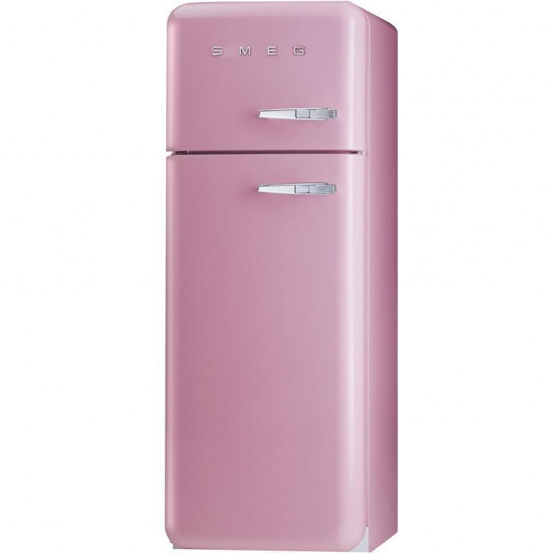 Smeg fab30 r frig rateur rose de cadillac laqu - Comparateur de prix refrigerateur ...