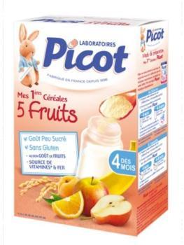 La mandorle c r ales et fruits d s 6 mois 400 g - Cereales bebe 5 meses ...
