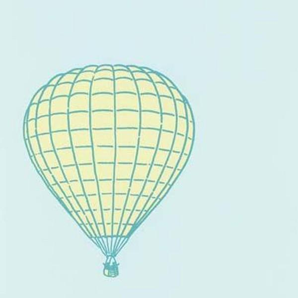 mimi sticker mural montgolfi res lou. Black Bedroom Furniture Sets. Home Design Ideas