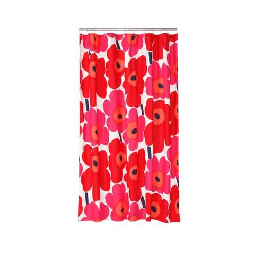Catgorie rideaux de douche du guide et comparateur d 39 achat - Rideau de douche rouge ...