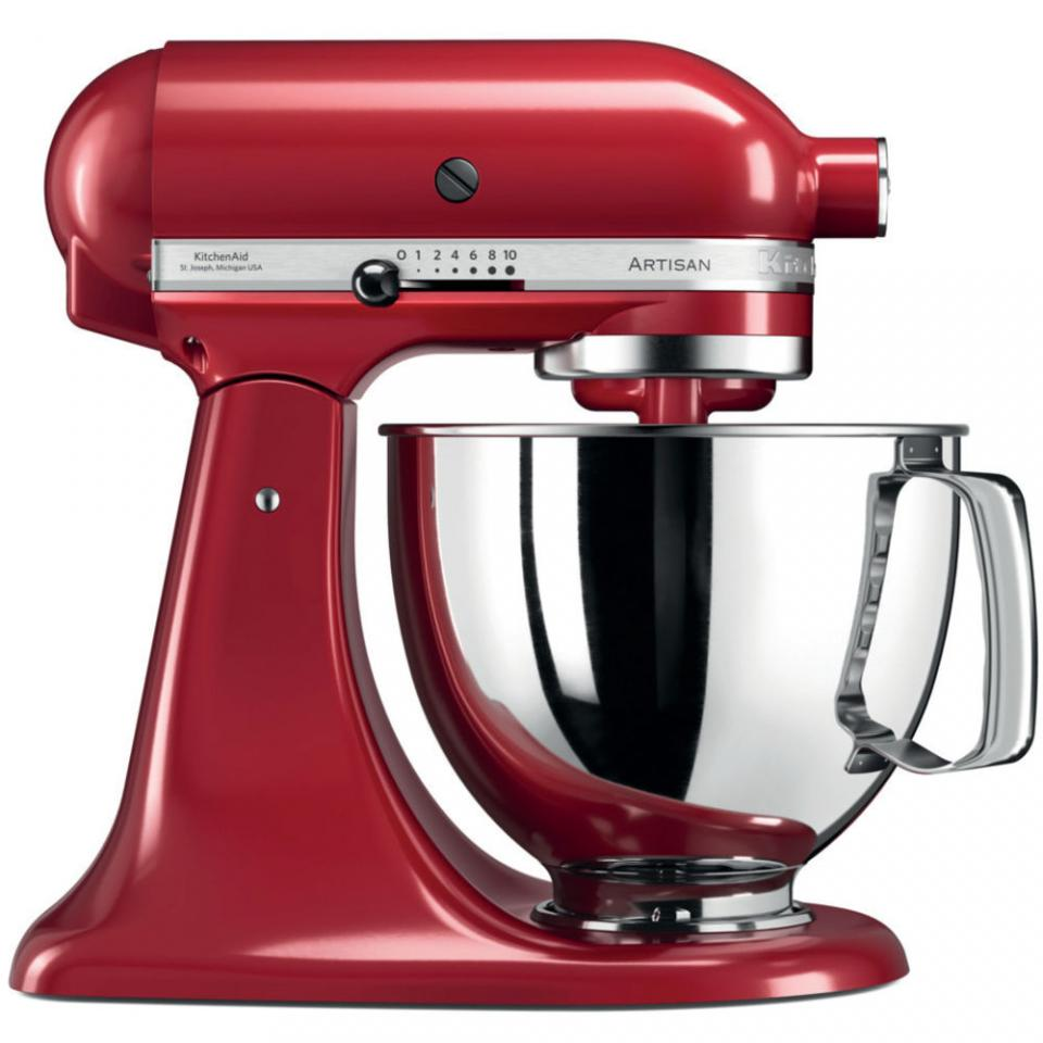 robot menager kitchenaid robot p tissier multifonction artisan 4 8l rouge empire 5ksm125eer. Black Bedroom Furniture Sets. Home Design Ideas