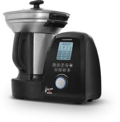 Thomson thmc45646 multicuiseur crea cook easy 5 l inox - Robot cuiseur geni mix pro thomson ...