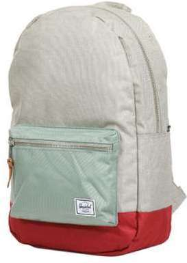 Sac à dos Herschel Settlement Light Khaki Crosshatch/Shadow/Brick Red vert LdxdzMFH