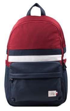 tommy hilfiger sac briefcase pu safiano double zip noi. Black Bedroom Furniture Sets. Home Design Ideas