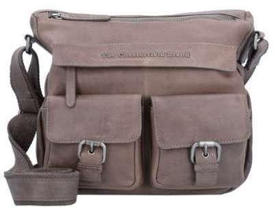 The Chesterfield Brand Monica sac bandoulière cuir 28 cm Black TTE4nEZ
