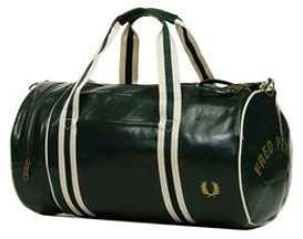 Sac de voyage cabine Fred Perry Track Barrel Bag 48 cm Ivy vert QITOSj