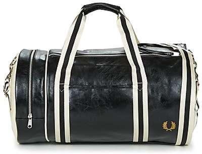 Sac de voyage cabine Fred Perry Track Barrel Bag 48 cm Ivy vert QzVLJz8g