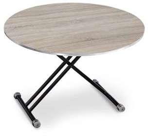 7f149bdb3b431d table basse ronde en bois et
