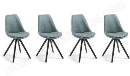 Chaise Lot De 4 Chaises Lars