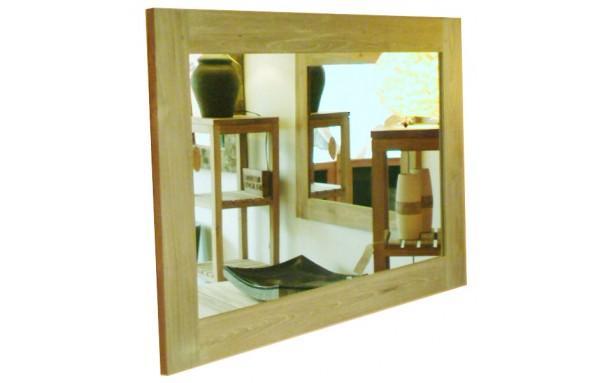 Kok c miroir teck recycl bross 70x50 for Miroir teck 50 x 70