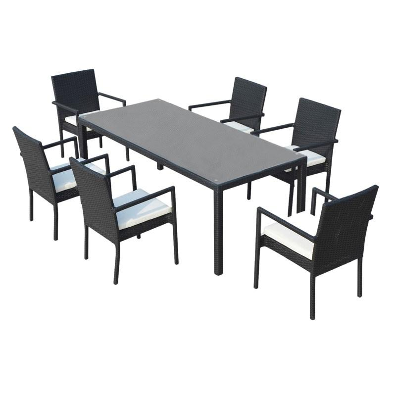 Ensemble table et chaise de jardin ensemble table et for Ensemble salon de jardin table et chaises