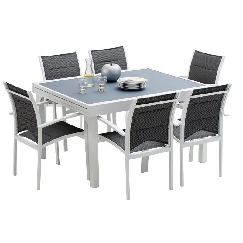 Stunning Table De Jardin Aluminium Carree Photos - Amazing House ...