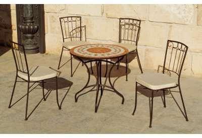 Cat gorie salon de jardin page 18 du guide et comparateur d 39 achat - Ensemble table ronde 4 chaises ...