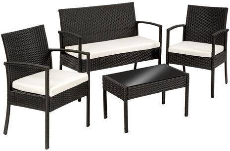 wood cfauteuil en r sine poly rotin mod le empilable. Black Bedroom Furniture Sets. Home Design Ideas