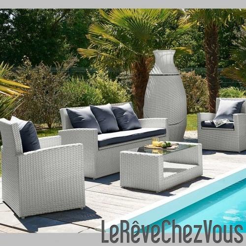 Beautiful Salon De Jardin Pvc Solde Ideas - Odieardhia.info ...