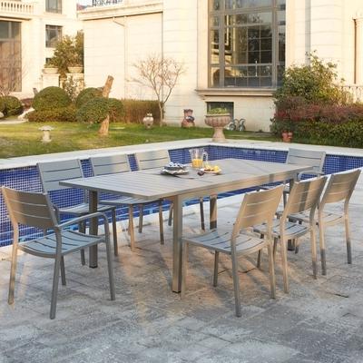 Catgorie salon de jardin page 2 du guide et comparateur d for Table 8 personnes extensible