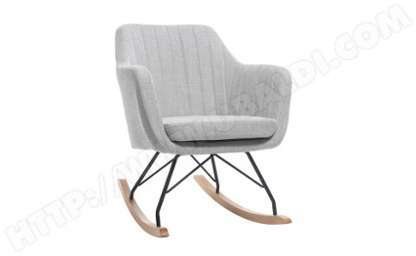 Chaise Bascule Scandinave Style