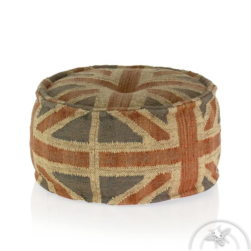 Repose pied de salon de jardin chocolat mobeventpro - Salon anglais en tissu ...