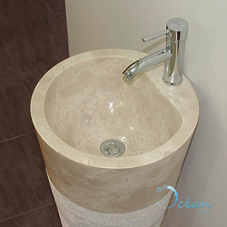 vasque colonne sur pied ABCelectronique