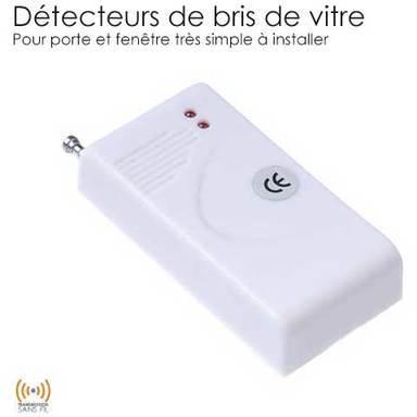smanos c detecteur de bris de glace gb1260. Black Bedroom Furniture Sets. Home Design Ideas